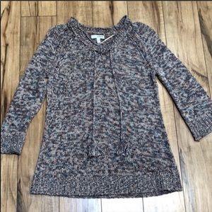 Sonoma boho style knit sweater